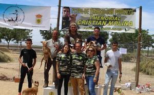 El I Memorial 'Cristian Molina' reúne a más de una treintena de podencos