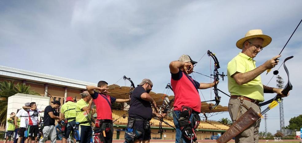 Destacada actuación de los arqueros zarceños en Badajoz