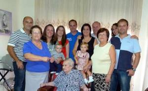 Fallece Matilde Quintero a los 104 años