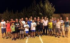 Los hermanos Francisco y Juan González, de Alange, conquistan el trofeo de petanca