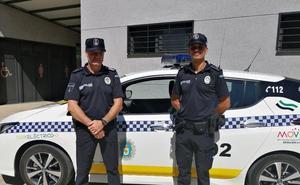 La Policía Local de La Zarza estrena uniforme