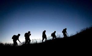 El club de senderismo programa una ruta nocturna este sábado