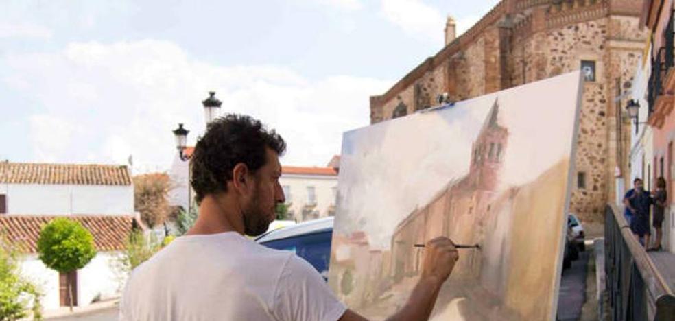 El Certamen Internacional de Pintura al aire libre alcanza su sexta edición