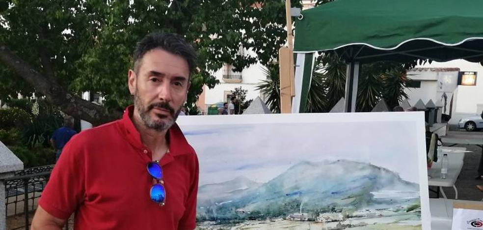 Joaquín Suárez se alza con el primer premio del Certamen Internacional de Pintura al aire libre