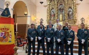 La Guardia Civil celebra en Alange el día de la Patrona