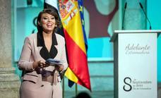 Presencia zarceña en el acto de entrega de las Medallas de Extremadura