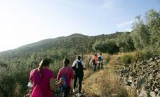 280 senderistas participan en la I Ruta 'Entre sierras'