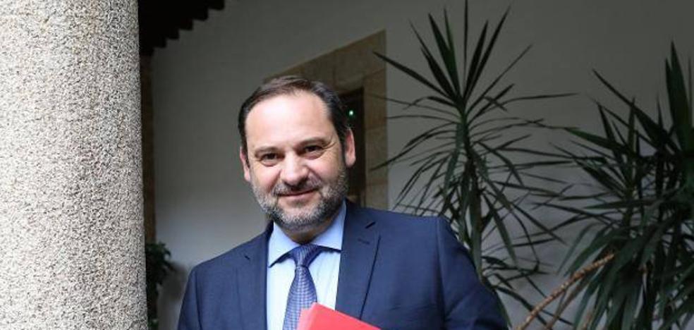 Ábalos anuncia una inversión de 125 millones de euros en la red ferroviaria de la comunidad