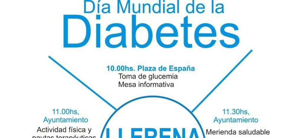 El día mundial de la diabetes no pasa desapercibido en Llerena