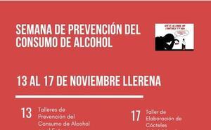 Llerena conciencia sobre el consumo de alcohol con su semana de prevención