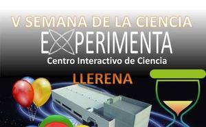 Experimenta trae su V Semana de la Ciencia a los llerenenses