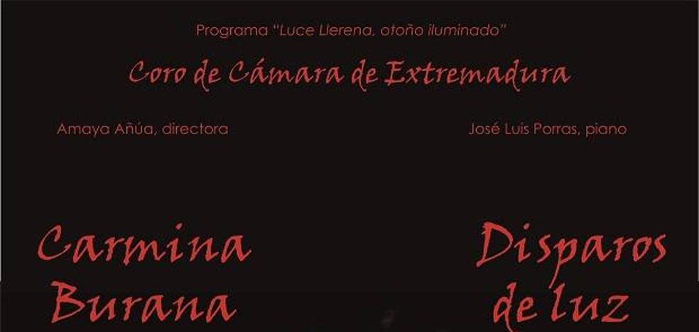 Concierto del Coro de la Cámara de Extremadura