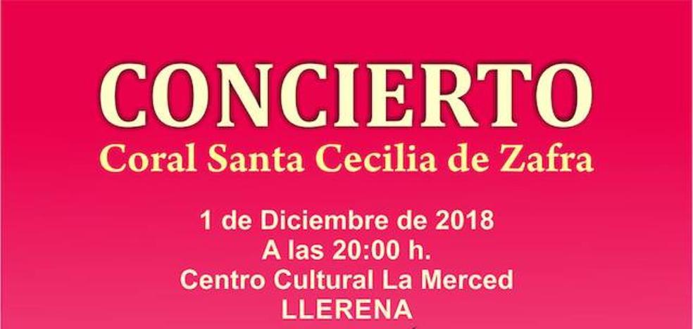 La Coral Santa Cecilia de Zafra el 1 de diciembre