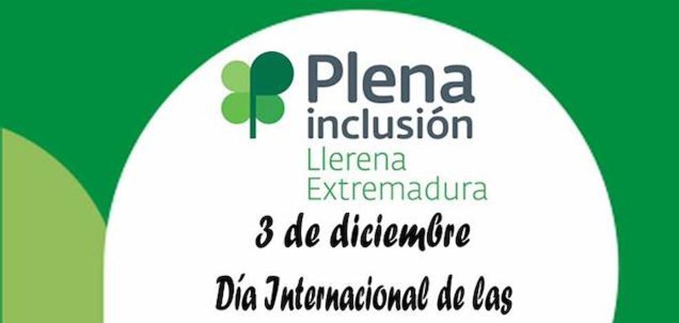 Plena Inclusión Llerena presenta su programa con motivo del Día Internacional de las Personas con Discapacidad
