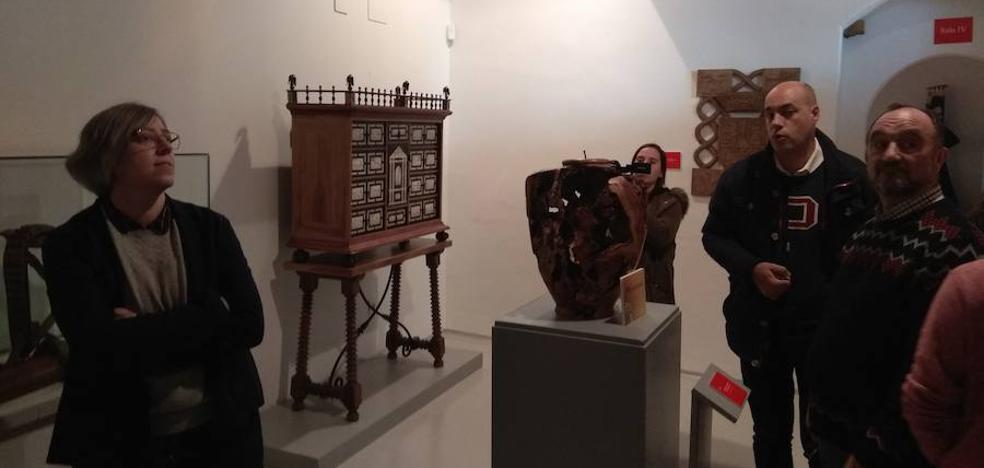Leire Iglesias visita la Campiña Sur y hace balance sobre el patrimonio de Llerena