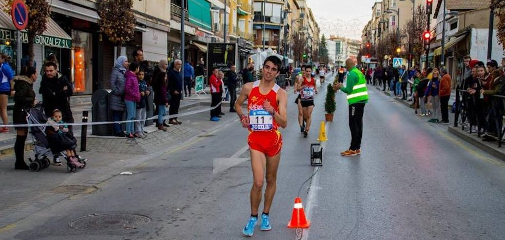 José Manuel Naranjo, tercero de España sub20 en 5km marcha