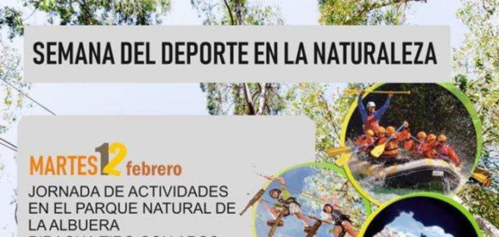 Pistoletazo de salida de la 'Semana del deporte en la naturaleza'