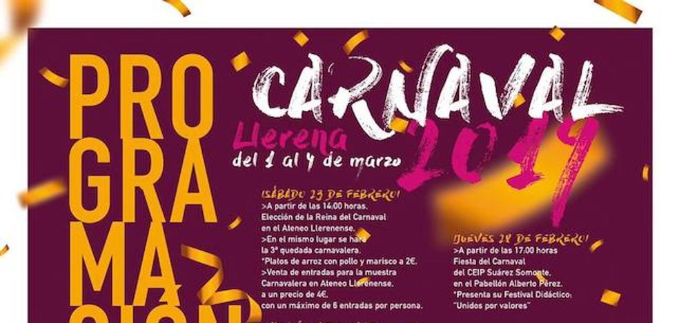 Llega el carnaval a Llerena
