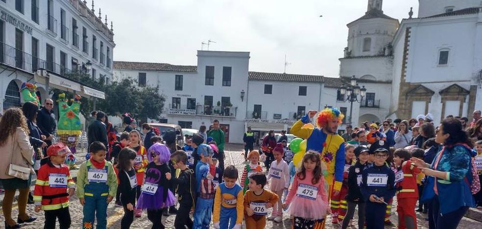 Éxito en la I Carrera Precarnaval de Llerena