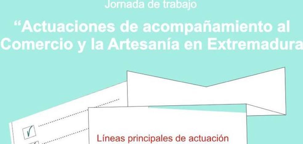 «Actuaciones de acompañamiento al Comercio y la Artesanía en Extremadura» a las 13:30