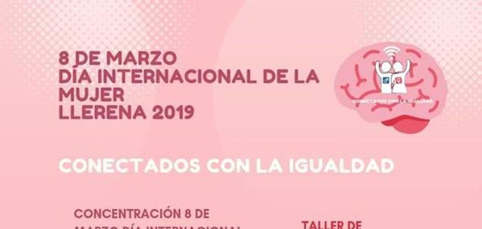 Programa de actividades por día de la mujer en Llerena