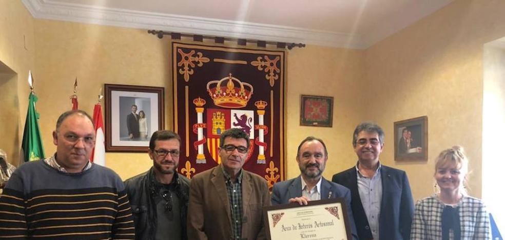La localidad recibe la acreditación como 'Área de Interés Artesanal'