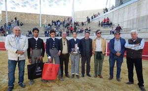 Manuel Perera se lleva el primer premio en el IV Bolsín Taurino 'Ciudad de Llerena'