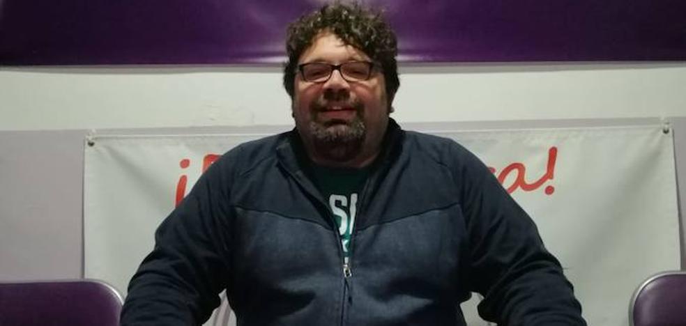 Carlos Martín, número uno por Podemos Llerena para las municipales
