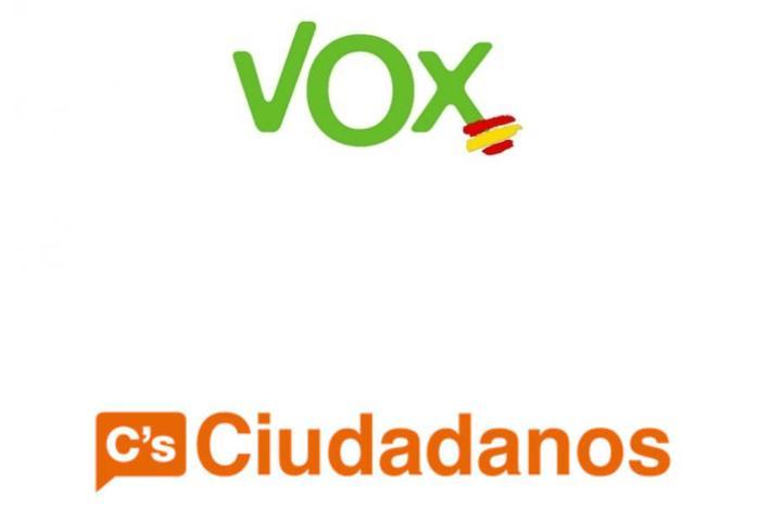VOX y Ciudadanos, nuevos partidos candidatos en las municipales
