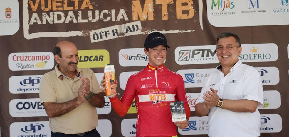 Manuel Cordero, mejor sub23 en la Vuelta Andalucía MTB