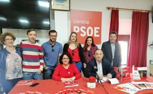 El PSOE de Llerena presenta su programa electoral