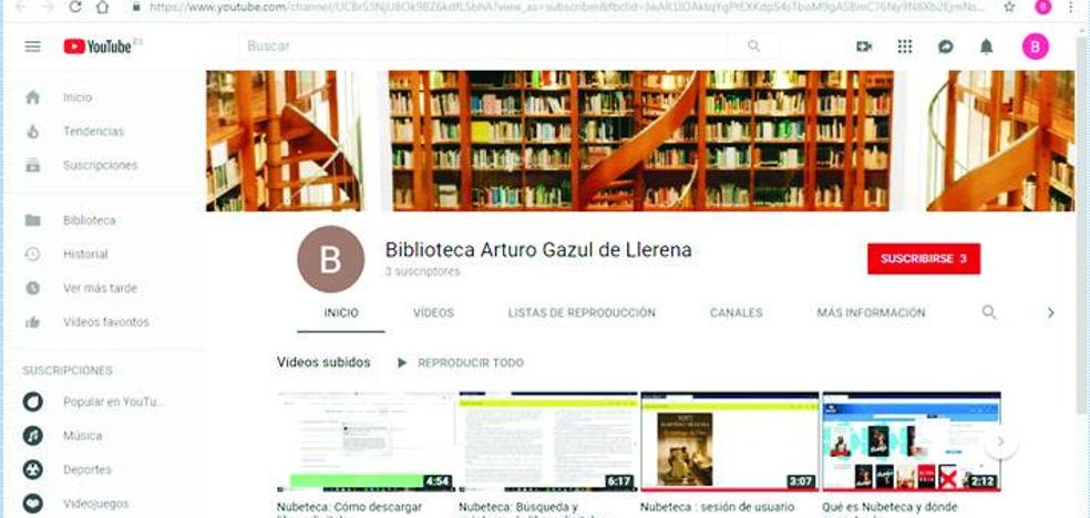 La Biblioteca Municipal estrena canal de Youtube