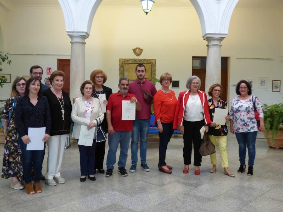 Nueva exposición con los trabajos de los alumnos del Taller de Dibujo en el Ayuntamiento