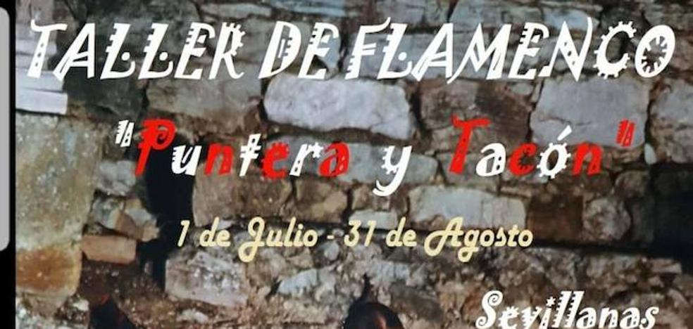 Taller de Flamenco 'Puntera y tacón' del 1 de julio al 31 de agosto
