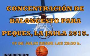 Concentración de baloncesto para los más pequeños
