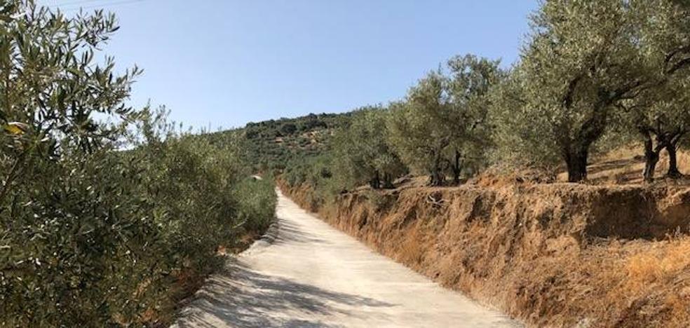 Finalizadas las obras en el camino de la Sierra de San Miguel