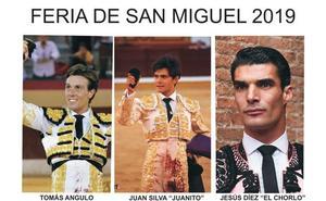 Tomás Angulo y Jesús Diez `El Chorlo', en la Feria de San Miguel 2019
