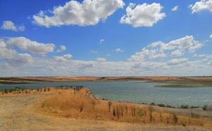 El Pantano de Arroyo Conejos, por debajo del 20% de capacidad