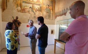 La imagen de San José ya se encuentra restaurada en el Museo Histórico