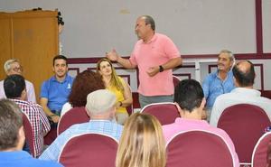 El Partido Popular, con Monago a la cabeza, reúne a su electorado en Llerena