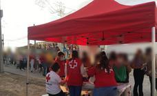 Cruz Roja recibió más de 730 kilos de alimentos con la iniciativa de «tickets solidarios»