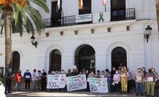 La 'España Vaciada' se manifiesta en Llerena