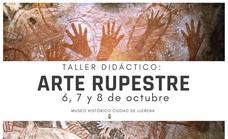 El Museo Histórico Ciudad de Llerena acoge un taller didáctico sobre arte rupestre