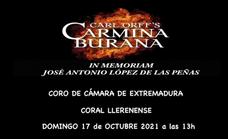 El Coro de Cámara de Extremadura y la Coral Llerenense interpretan 'Carmina Burana'