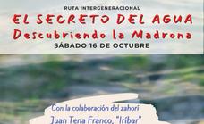 'Descubriendo La Madrona', una ruta intergeneracional para aprender «el secreto del agua»