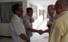 El párroco Don Leonardo ya participa en Filipinas en la Conferencia Mundial de la fraternidad Jesús Cháritas