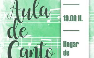 El Aula de Canto de la Escuela de Música ofrece un concierto en el Hogar de Mayores el día de San Valentín