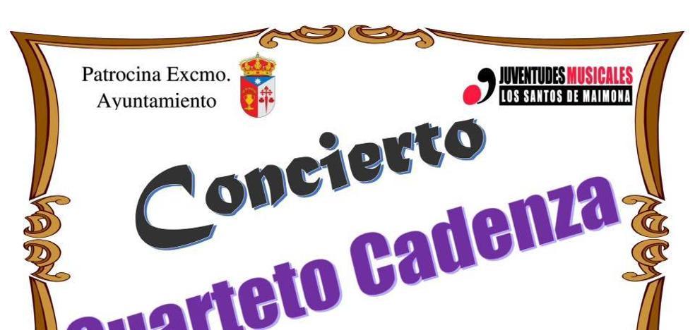 El Cuarteto Cadenza ofrece un concierto en la ermita de San Lorenzo