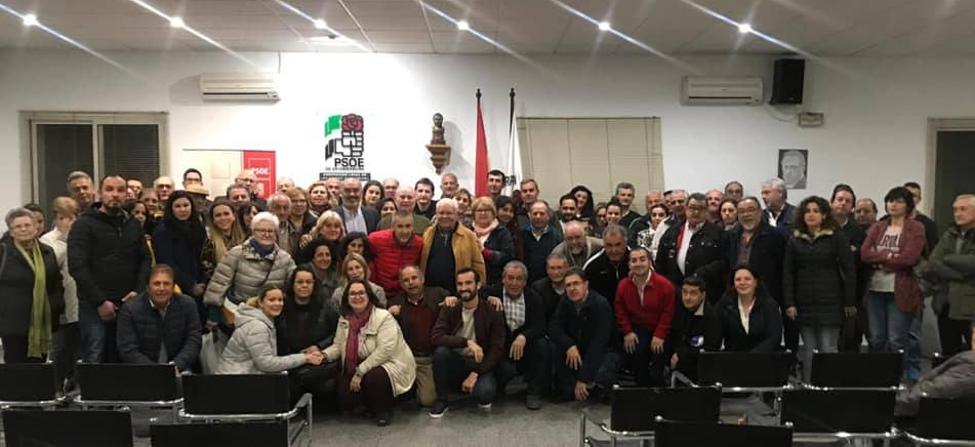 La Agrupación Socialista Santeña ya ha elegido la candidatura que presentará a las elecciones municipales del 26 de mayo