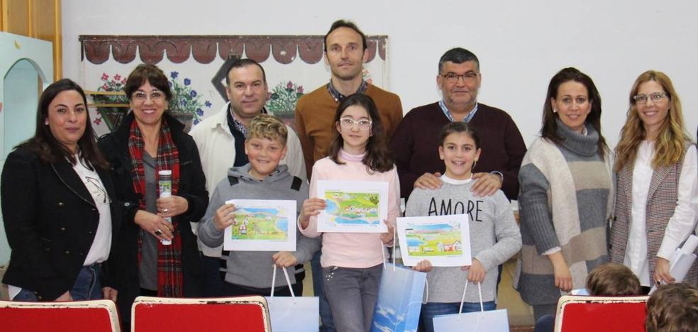 Tres alumnos del Mauricio Tinoco han resultado finalistas, del Certamen Internacional de Dibujo, que convoca Aqualia